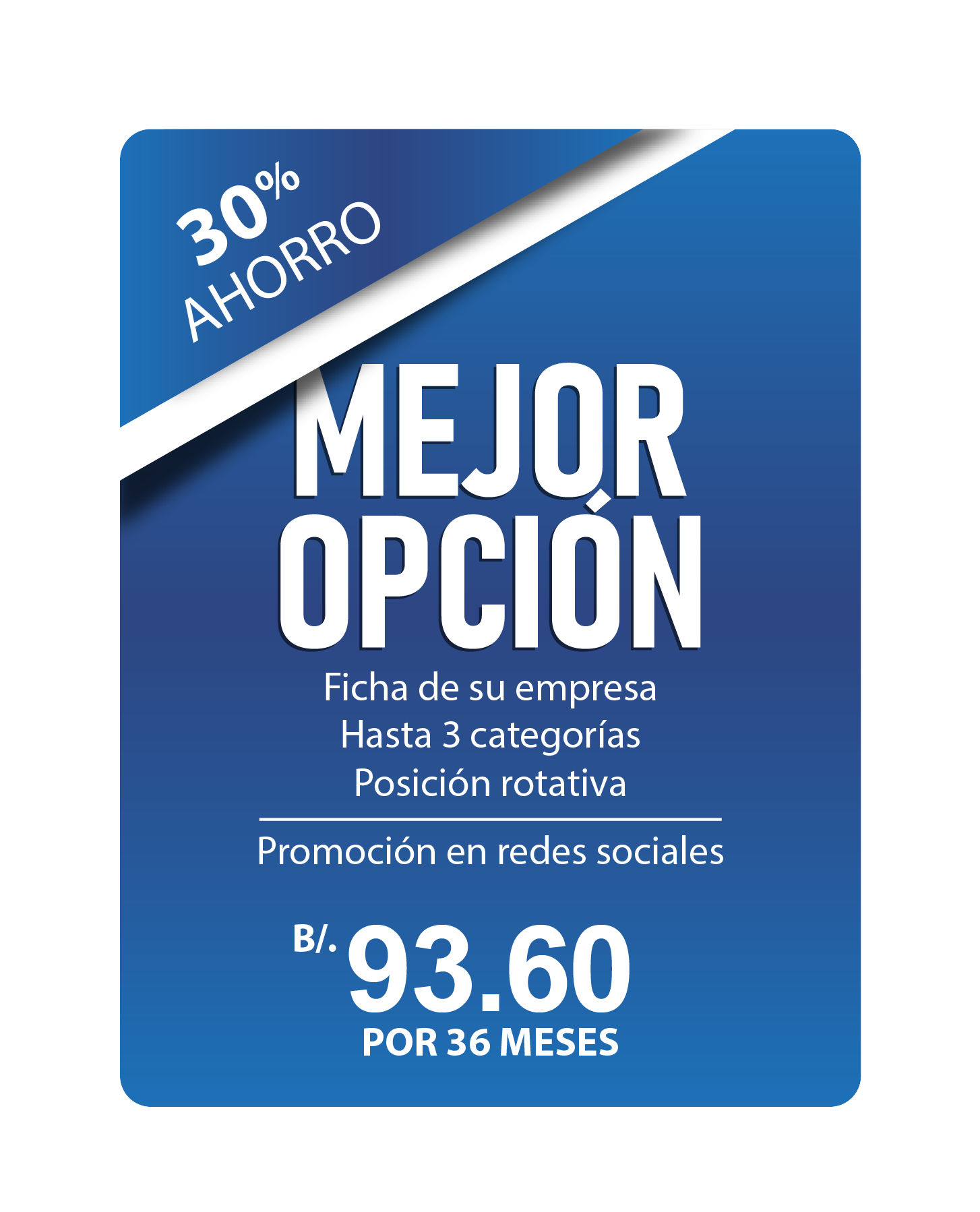 MEJOR OPCION